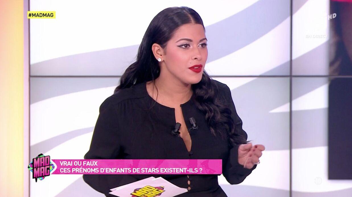 VIDEO Ayem Nour agacée par une question sur le prénom de son fils