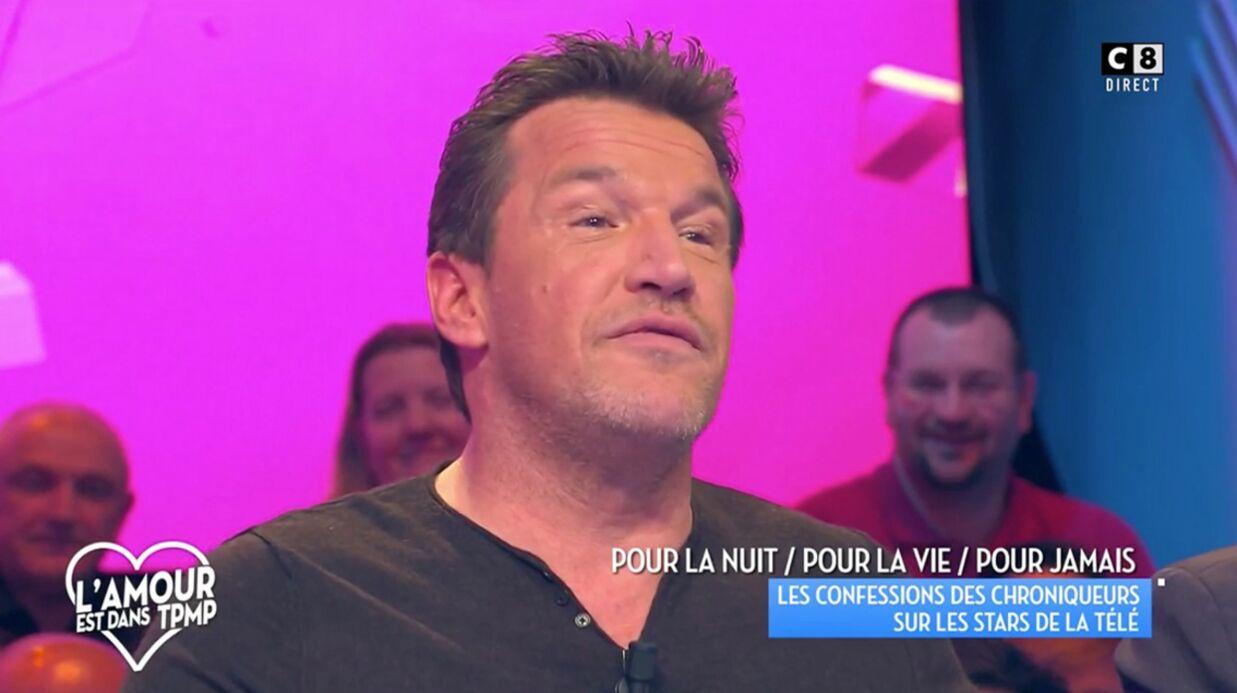 VIDEO Poussé par ses ex, Benjamin Castaldi a passé un test pour vérifier qu'il n'était pas homosexuel