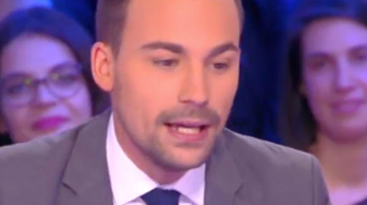 VIDEO Bertrand Chameroy arrête Touche pas à mon poste