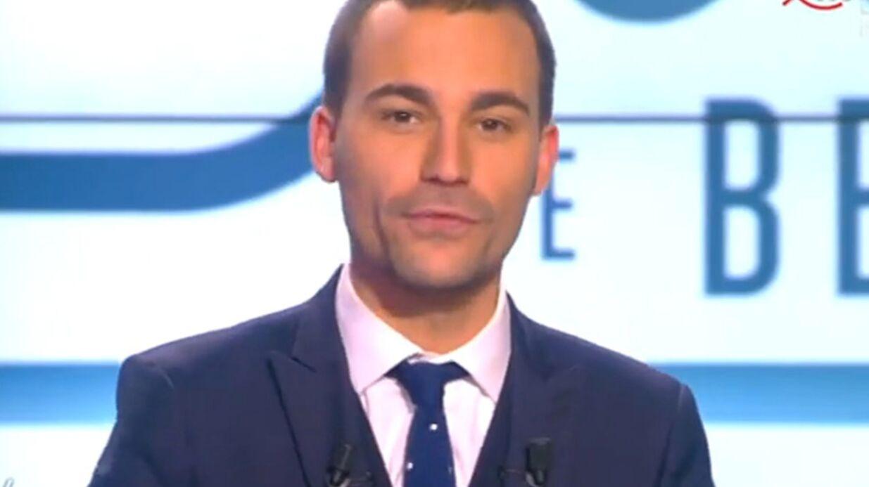 VIDEO Bertrand Chameroy cite PPDA lors de ses adieux sur D8