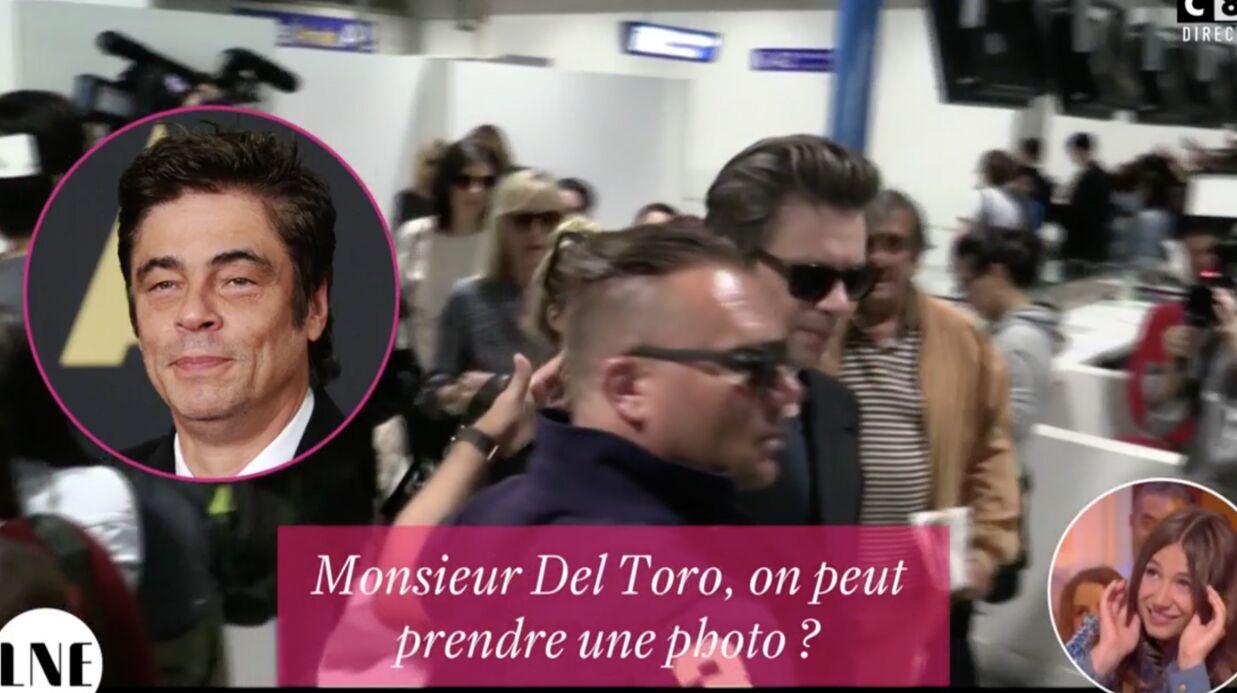 VIDEO Cannes: confondu par un fan avec Benicio del Toro, Benjamin Biolay joue le jeu