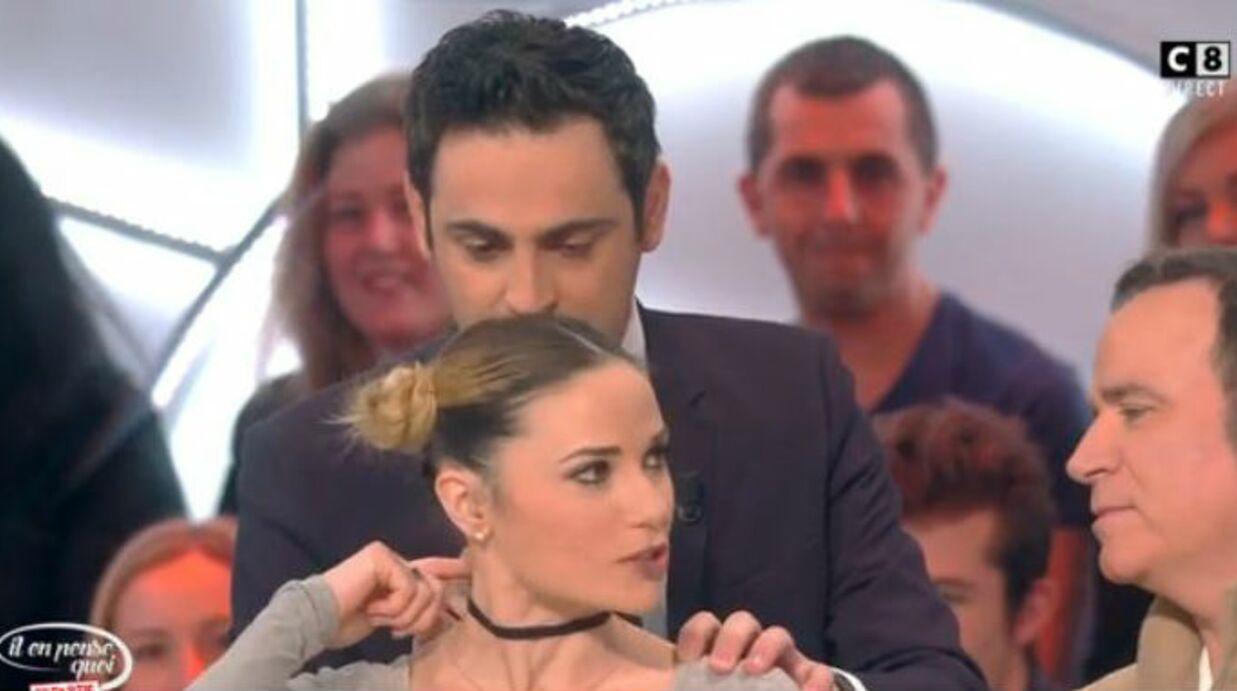 Capucine Anav dévoile son tatouage en forme de belle déclaration à son ex, Louis Sarkozy