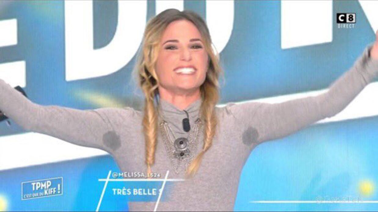 VIDEO Capucine Anav: moquée pour ses auréoles sous les bras dans TPMP, elle préfère en rire