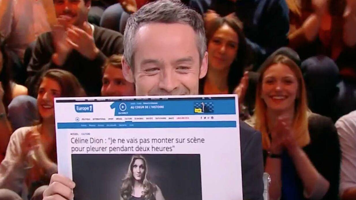Zapping de la semaine: Céline Dion méconnaissable