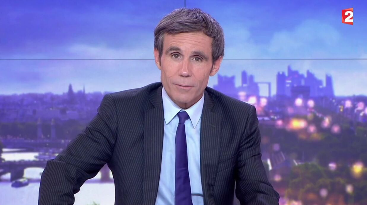 VIDEO David Puja­das viré du 20h : son message aux télé­spec­ta­teurs à la fin de son JT