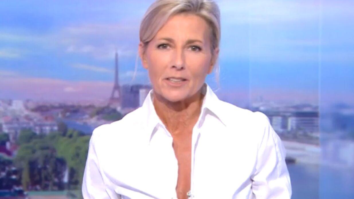 VIDEO Emue, Claire Chazal fait ses adieux au journal de TF1