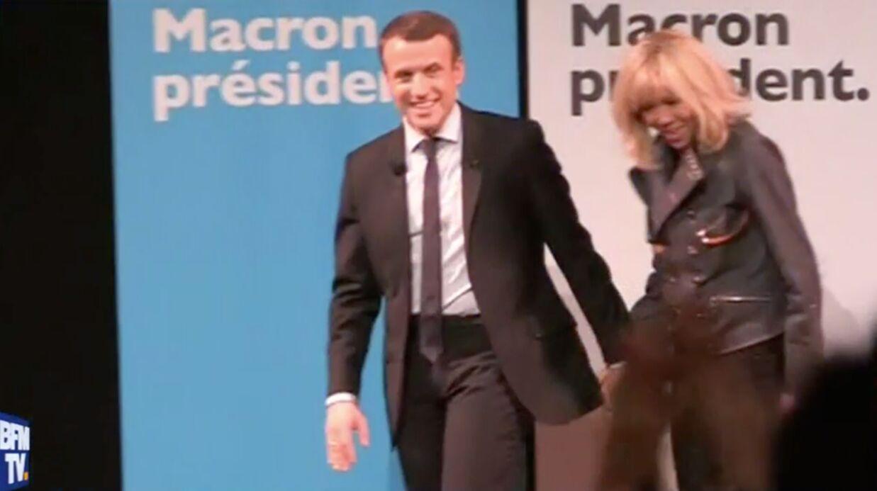 Emmanuel Macron imagine son épouse en première dame et tacle les compagnes de François Hollande