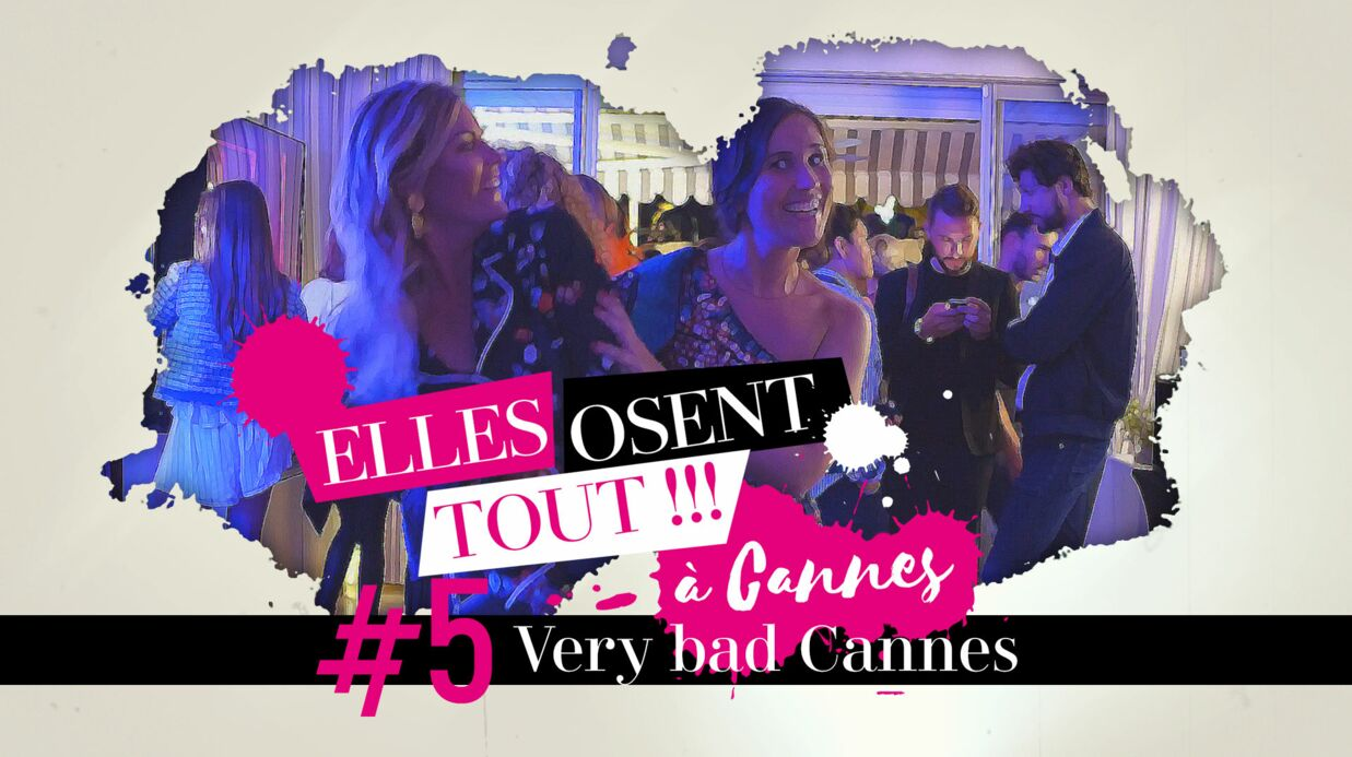 Websérie – Elles osent tout à Cannes #5: Very bad Cannes avec Bernard Montiel et Sandra Zeitoun