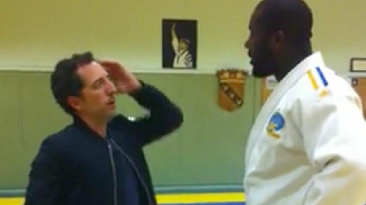 VIDEO Gad Elmaleh a battu Teddy Riner au judo