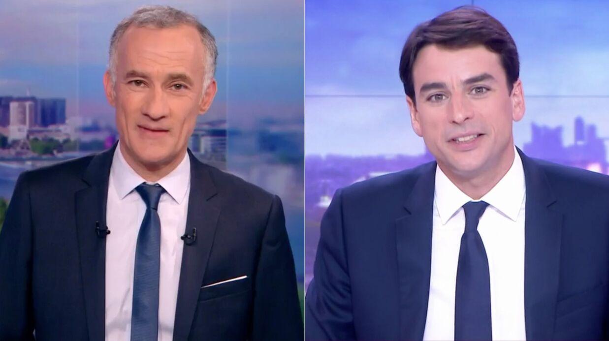 VIDEO Gilles Bouleau et Julian Bugier: leurs hommages dans leurs JT à David Pujadas viré du 20 Heures