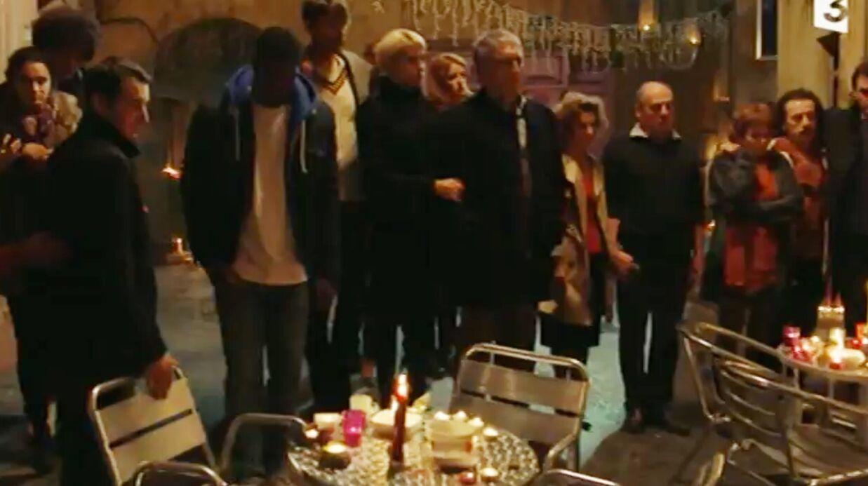 VIDEO L'hommage poignant des acteurs de Plus belle la vie suite aux attentats