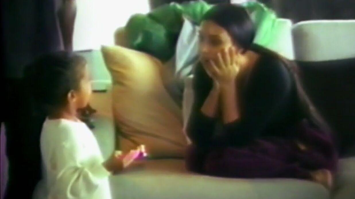 VIDEO L'incroyable famille Kardashian: les tendres retrouvailles entre Kim et ses enfants après son agression