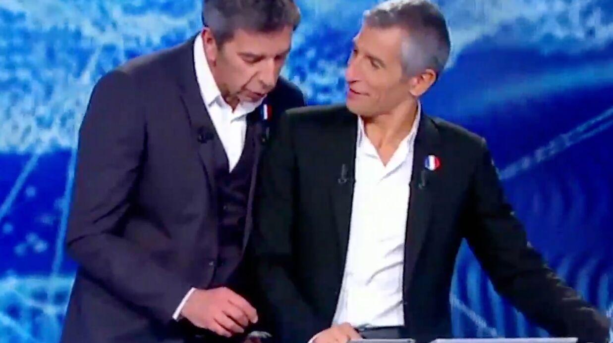 VIDEO Michel Cymès se moque de la femme de Nagui, elle lui répond et le bâche en direct!