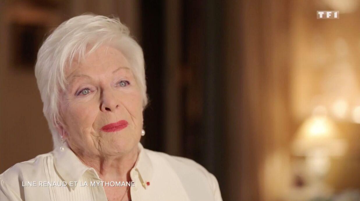VIDEO Line Renaud émue raconte comment elle a été abusée par une fan mythomane