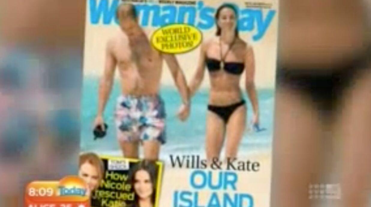 VIDEO Les photos privées de la lune de miel de Kate et William