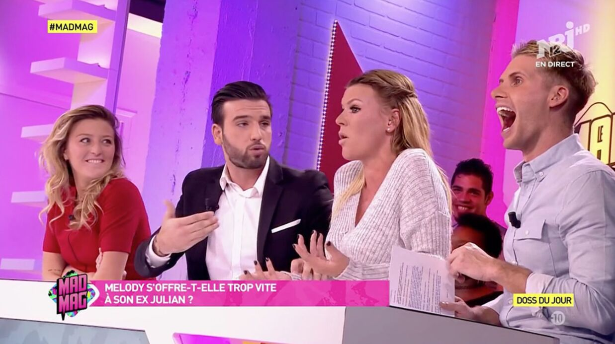 VIDEO Mad Mag : gros clash entre Amélie Neten et Ayme­ric Bonnery