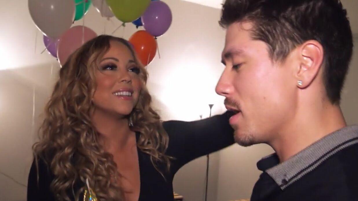 VIDEO Mariah's World: Mariah Carey et Bryan Tanaka en viennent à se tripoter pendant une soirée arrosée