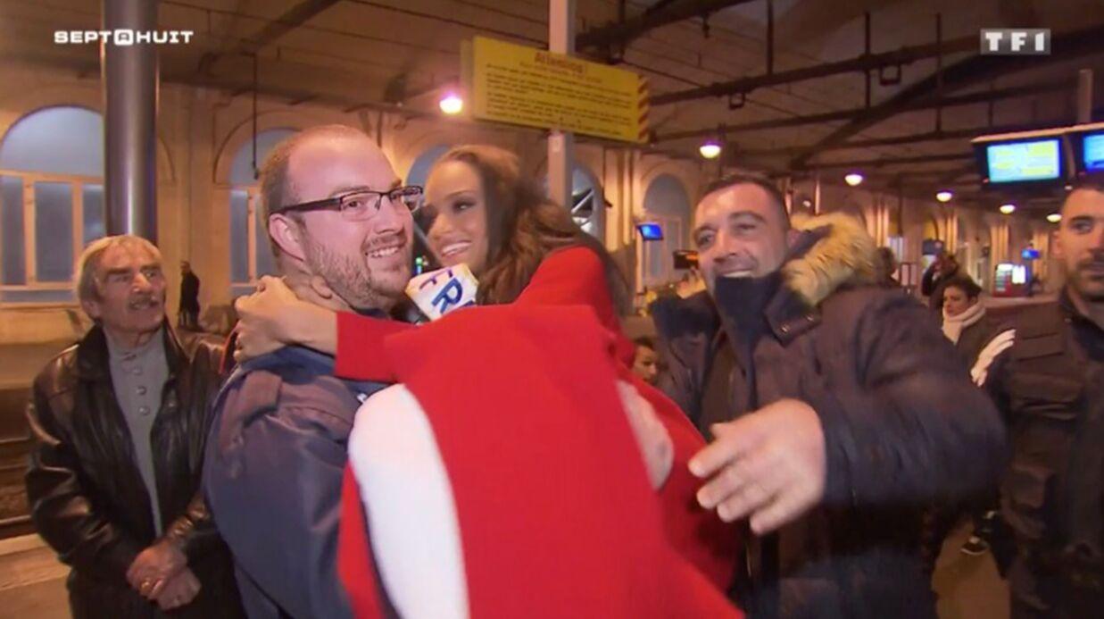VIDEO Miss France 2017: après une crampe au mollet, Alicia Aylies doit se faire porter par un policier