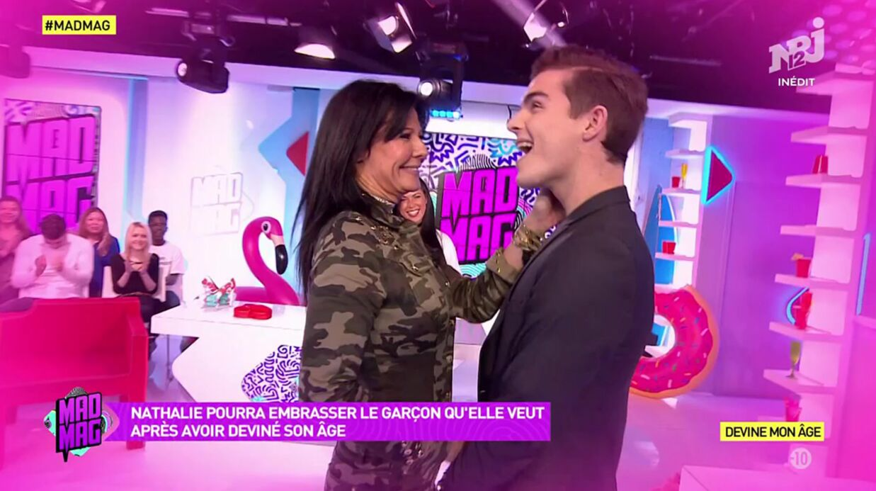 VIDEO Natha­lie (Secret Story) embrasse en direct Julien Castaldi, le fils de Benja­min Castaldi