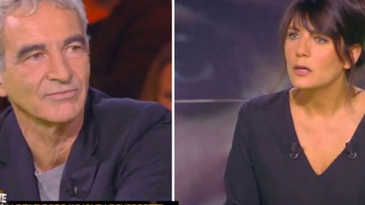 VIDEO Estelle Denis sous le choc: pour Raymond Domenech, une Coupe du Monde passe avant les enfants