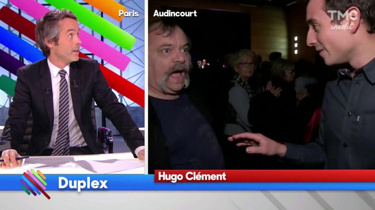 VIDEO Quotidien: Hugo Clément violemment bousculé au meeting de Manuel Valls