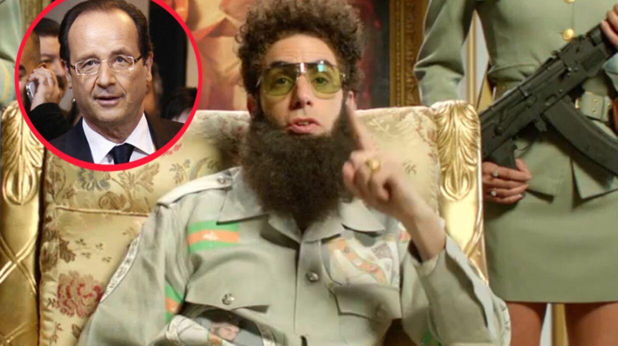 VIDEO Sacha Baron Cohen félicite François Hollande