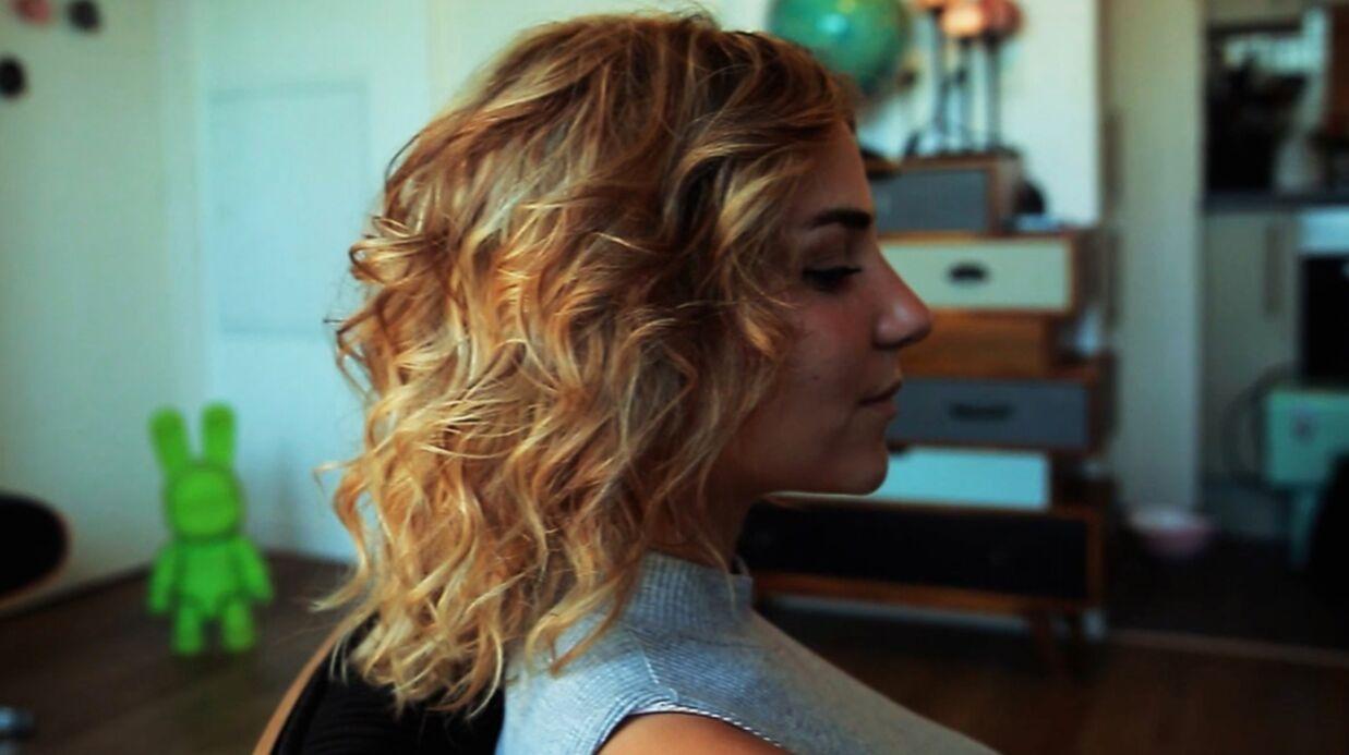 VIDEO Tuto coiffure: craquez pour des cheveux ondulés