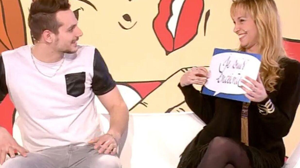 VIDEO Les Z'Amours: la belle surprise d'une candidate à son compagnon pendant le jeu