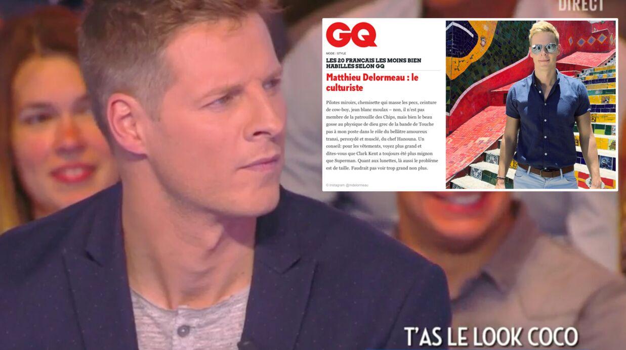 VIDEO Matthieu Delormeau, très vexé, apprend qu'il est la deuxième star française la moins bien habillée