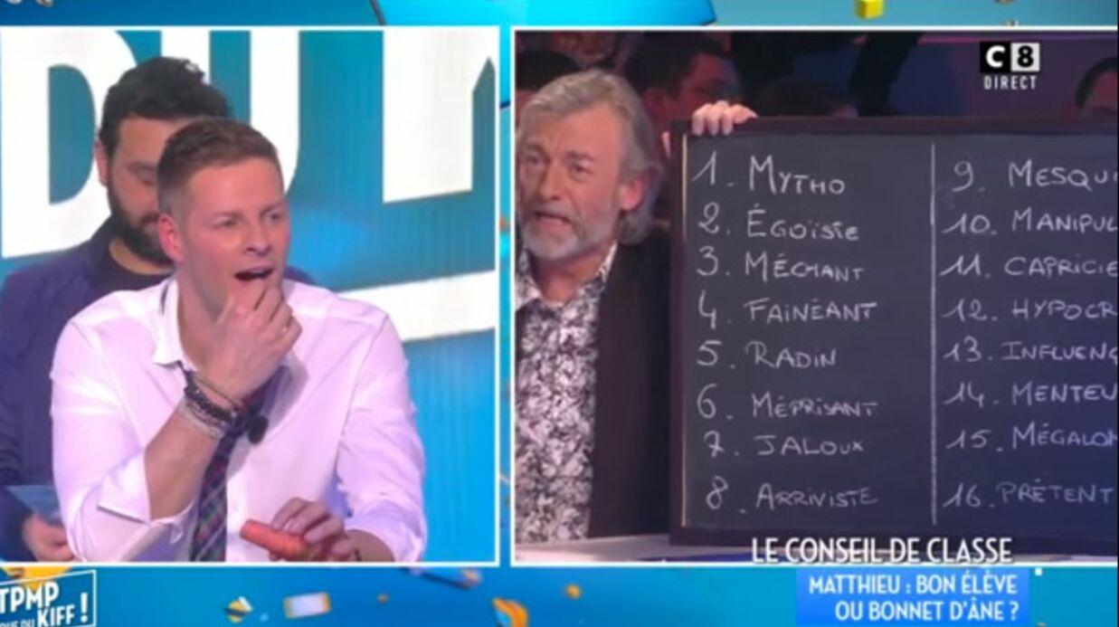 VIDEO Gilles Verdez balance tous les défauts de Matthieu Delormeau: une longue liste