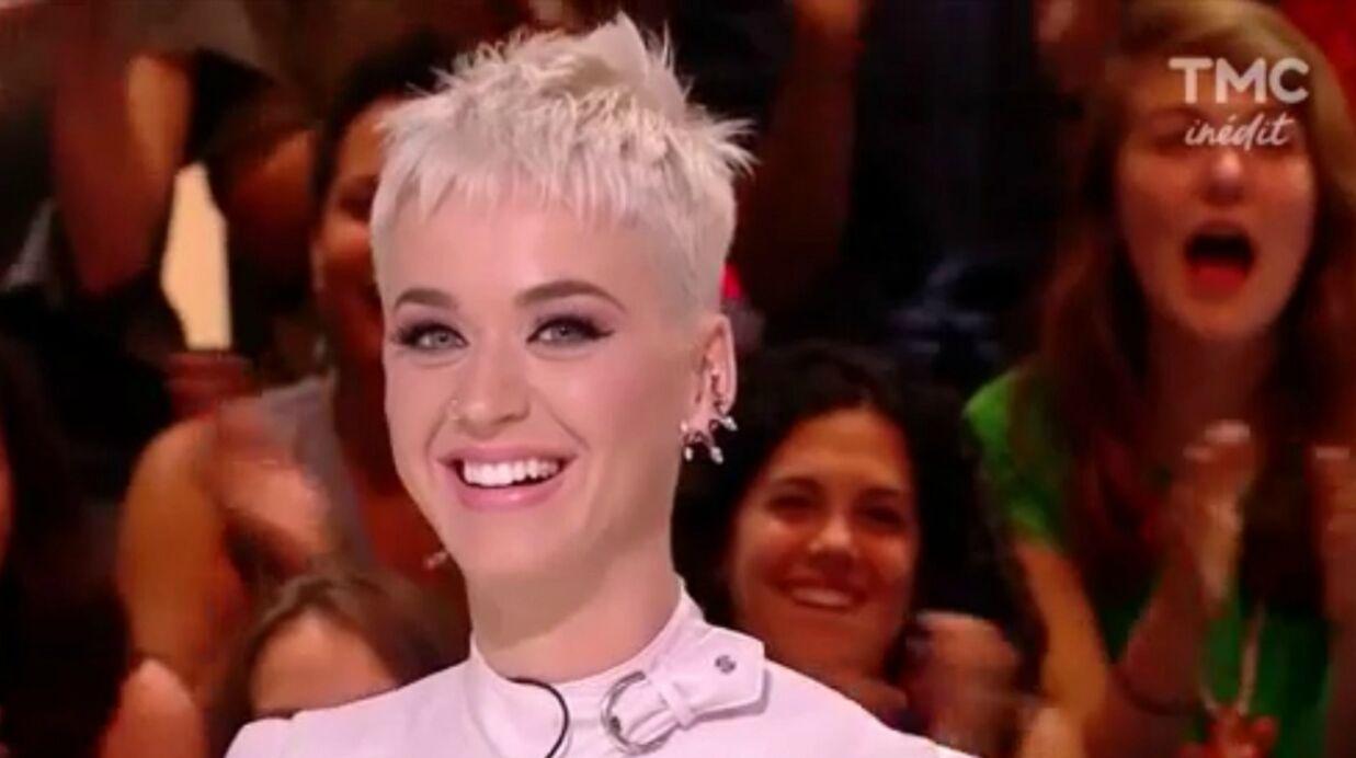 VIDEO Katy Perry annonce qu'elle est toujours célibataire sur le plateau de Quotidien