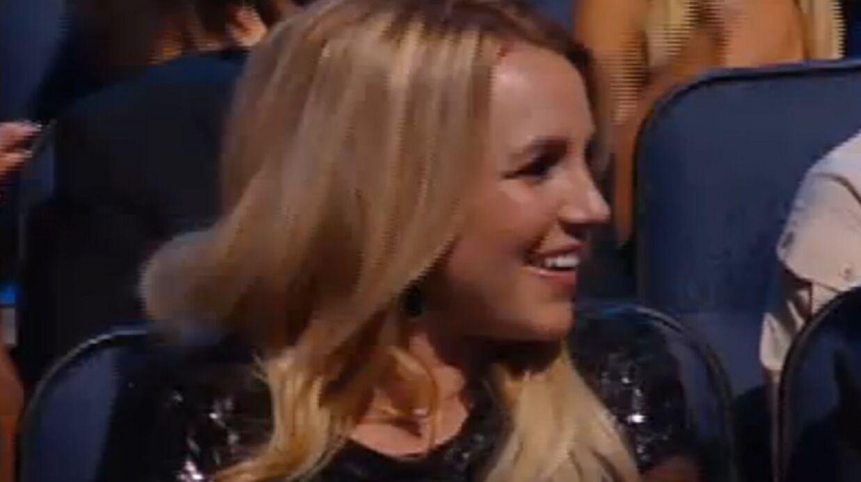 VIDEO La déclaration d'amour de Britney Spears aux MTV VMA
