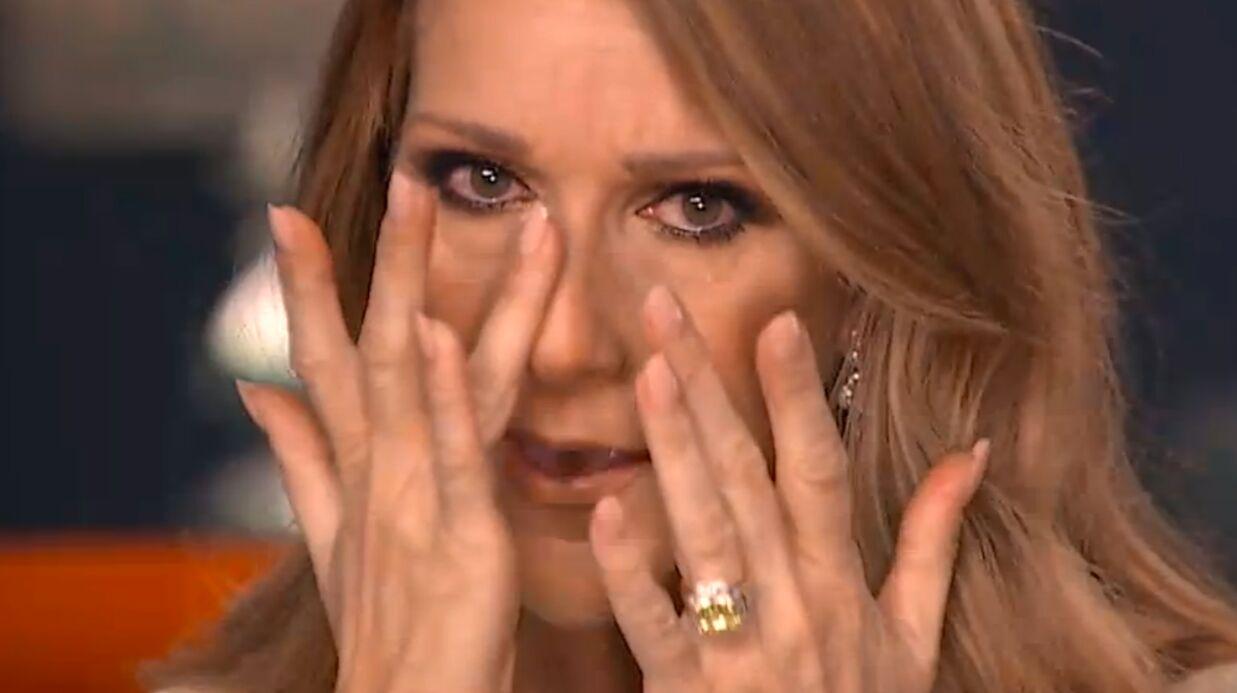 VIDEO En larmes, Céline Dion décrit le quotidien difficile de son mari malade