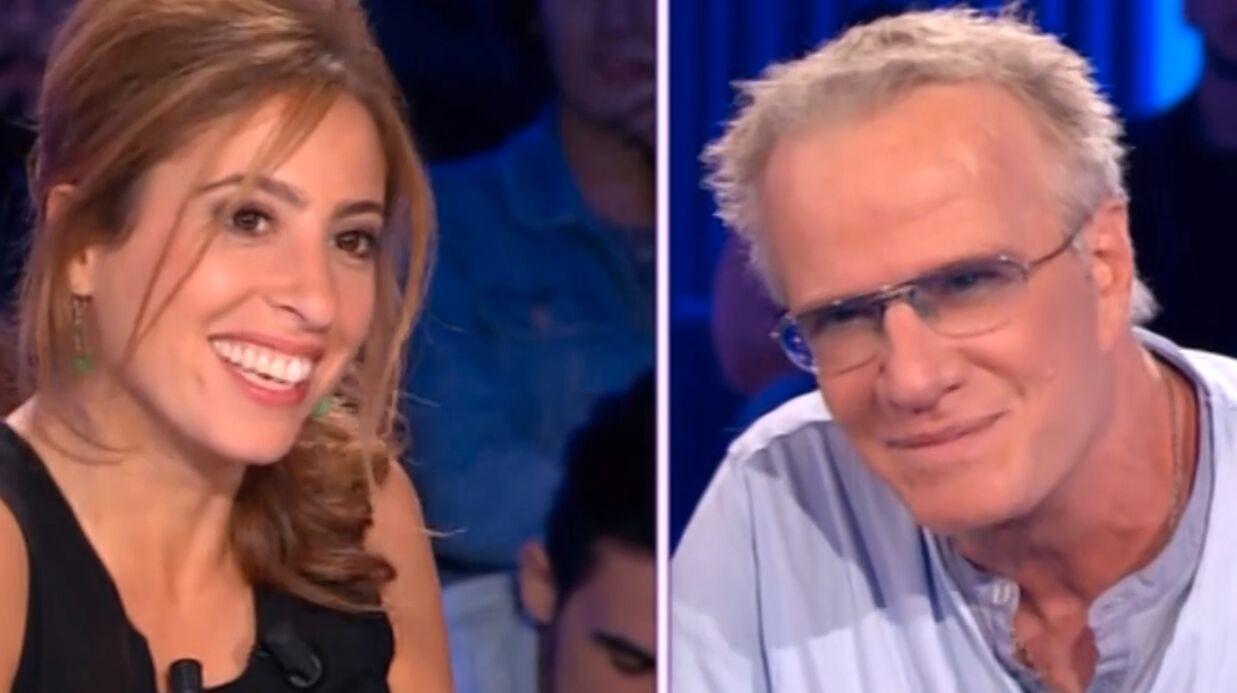VIDEO Christophe Lambert drague tranquillement Léa Salamé