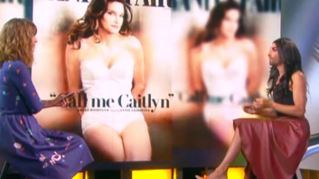 VIDEO Conchita Wurst trouve Cait­lyn Jenner « telle­ment belle »