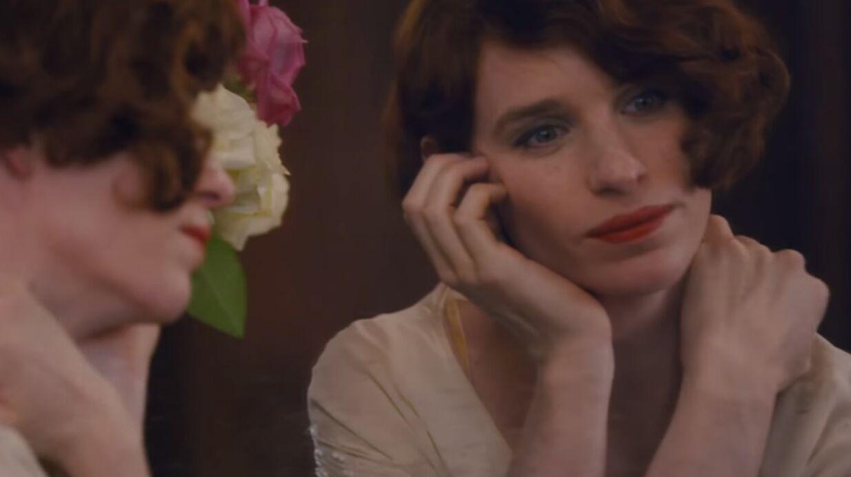 VIDEO Eddie Redmayne troublant en femme dans The Danish Girl