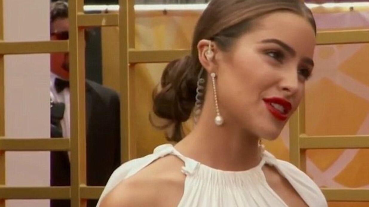 VIDEO Emmy Awards 2015: Olivia Culpo fait un malaise sur le tapis rouge