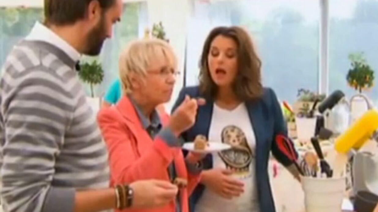 Faustine Bollaert (Le meilleur pâtissier): elle révèle les techniques de l'équipe pour ne pas grossir sur le tournage