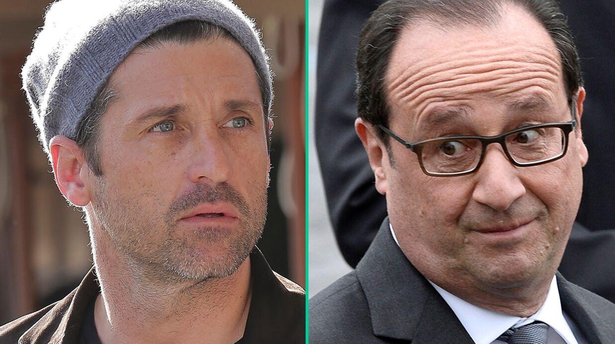 François Hollande vexe Patrick Dempsey en ne le reconnaissant pas