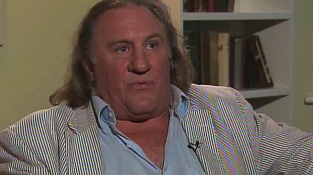 VIDEO Gérard Depardieu explique pourquoi il a fait pipi dans l'avion