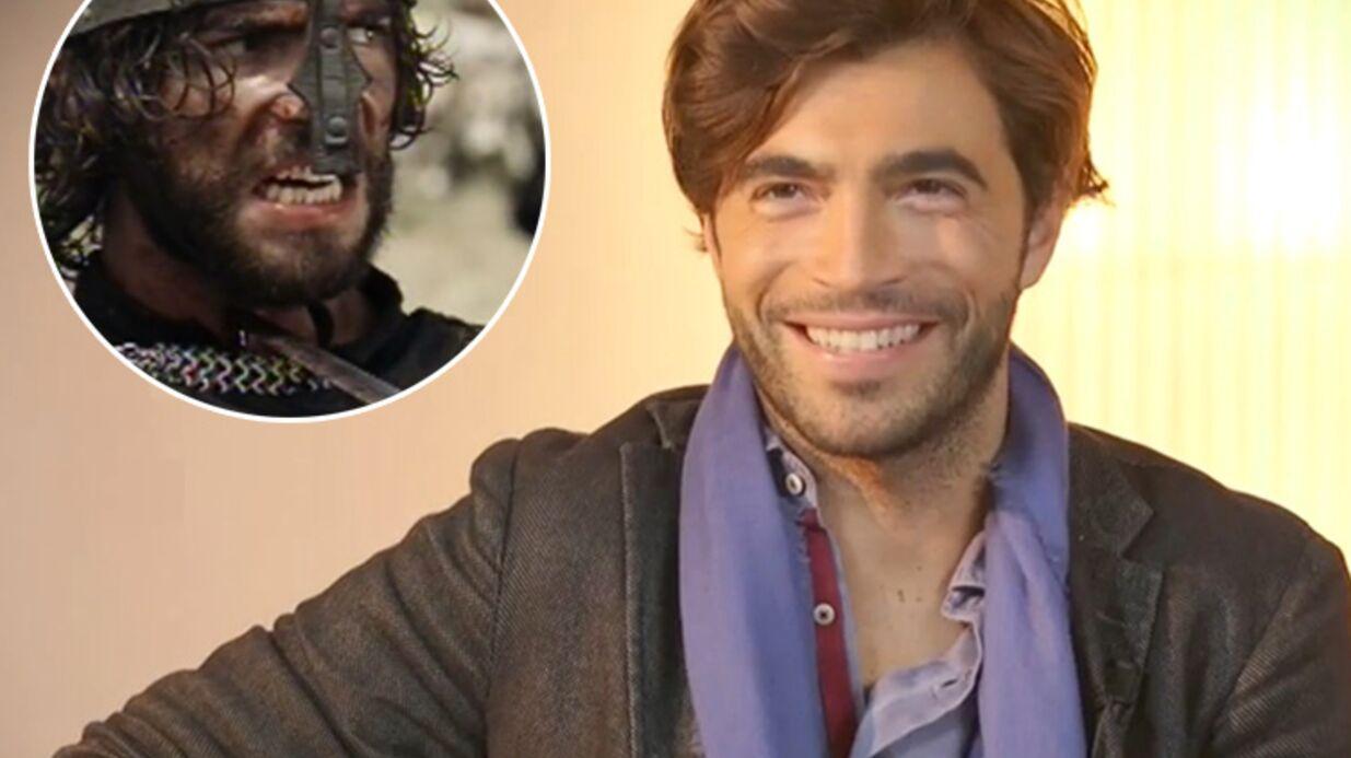 VIDEO Gian Marco, le Bachelor de NT1, se fait tuer à coups d'épée dans un film italien