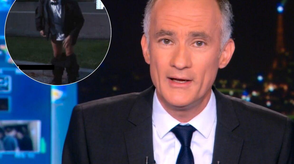 VIDEO Gilles Bouleau perd son pantalon en plein reportage
