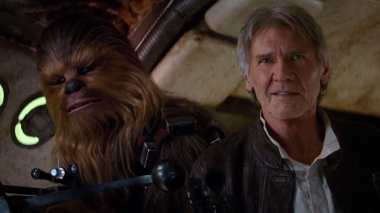 VIDEO Harrison Ford retrouve Chewbacca dans le nouveau teaser de Star Wars VII