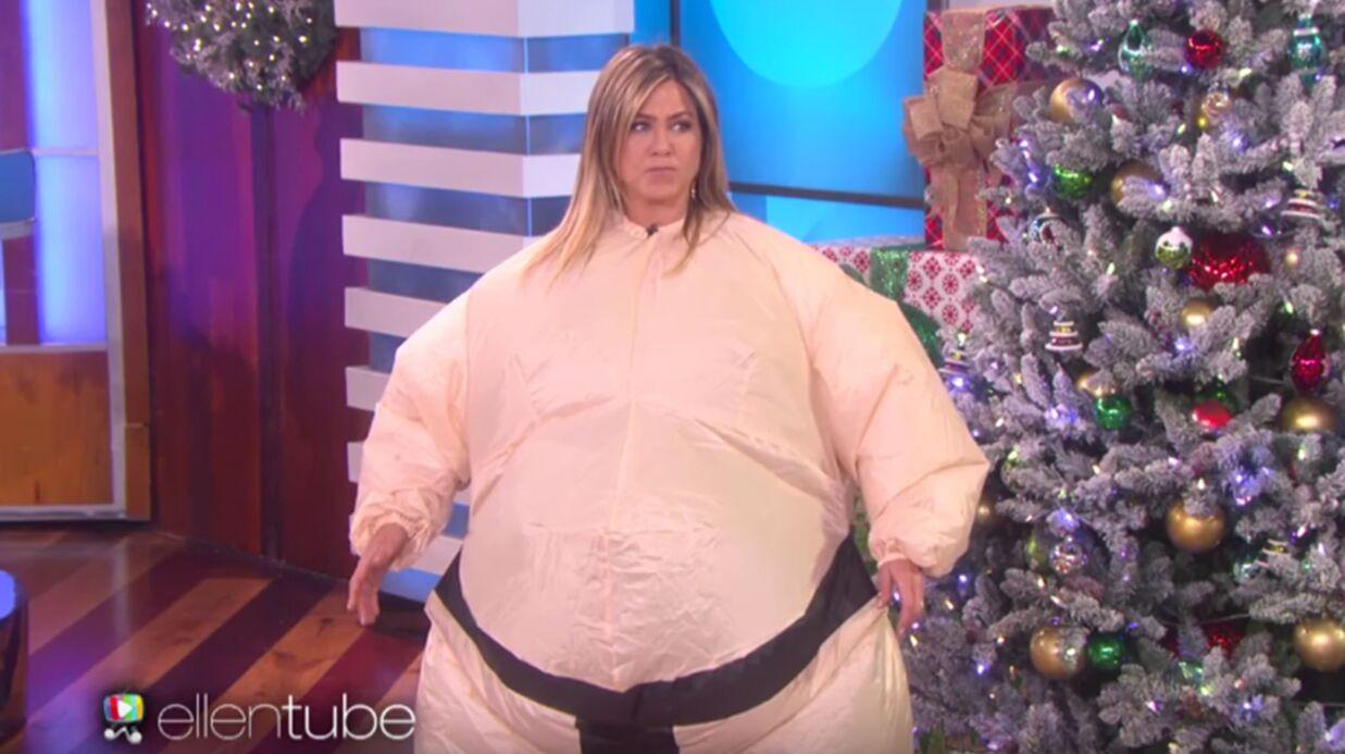 Jennifer Aniston twerke en costume de sumo: la vidéo drôle du jour
