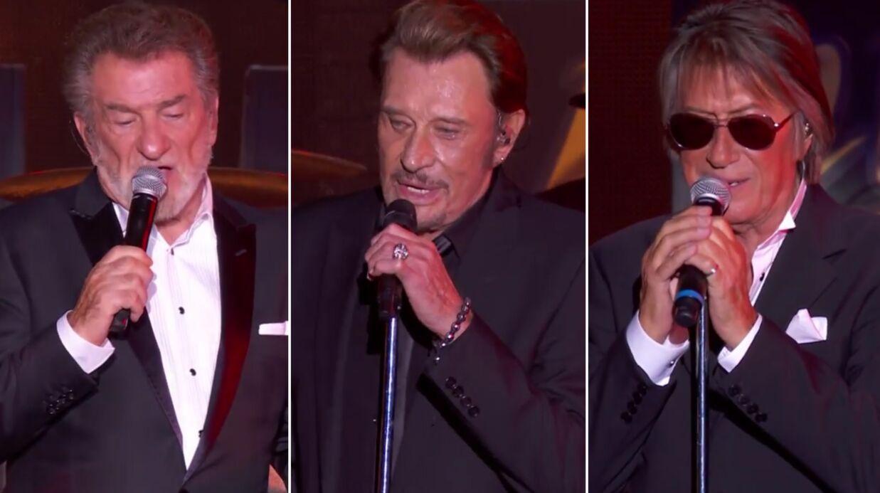 Découvrez un extrait inédit de Johnny Hallyday, Jacques Dutronc et Eddy Mitchell chantant Vieille canaille