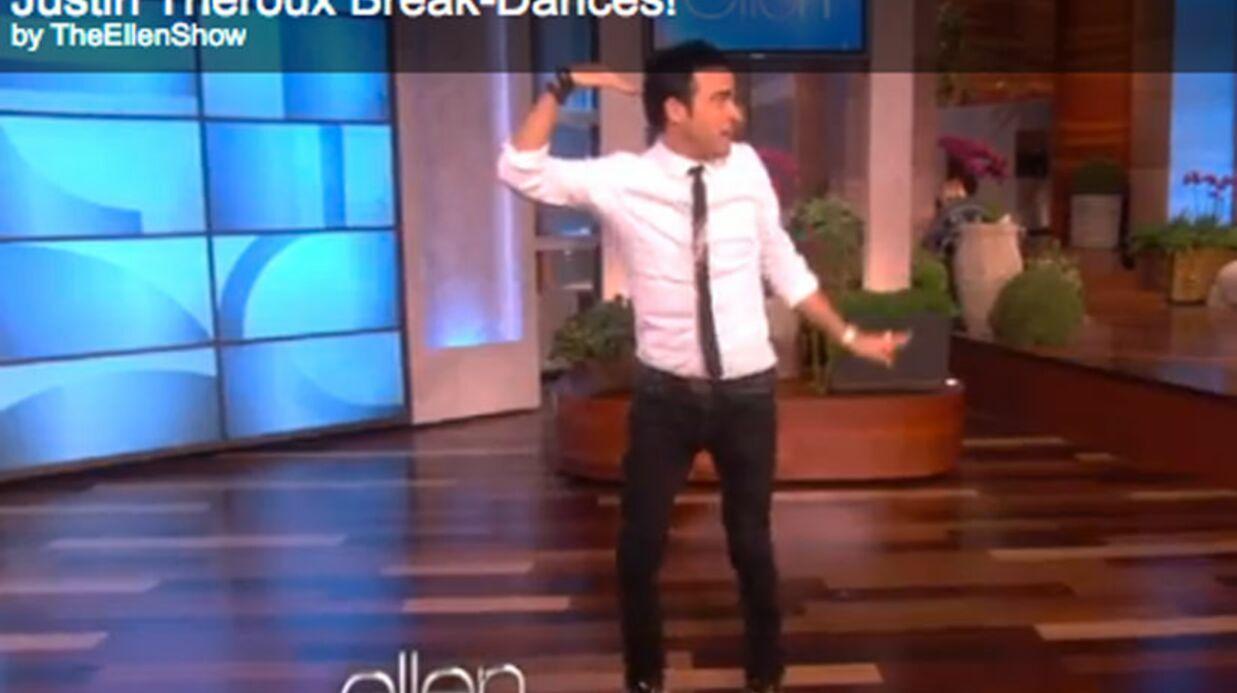 VIDEO Piégé par Jennifer Aniston, Justin Theroux doit danser