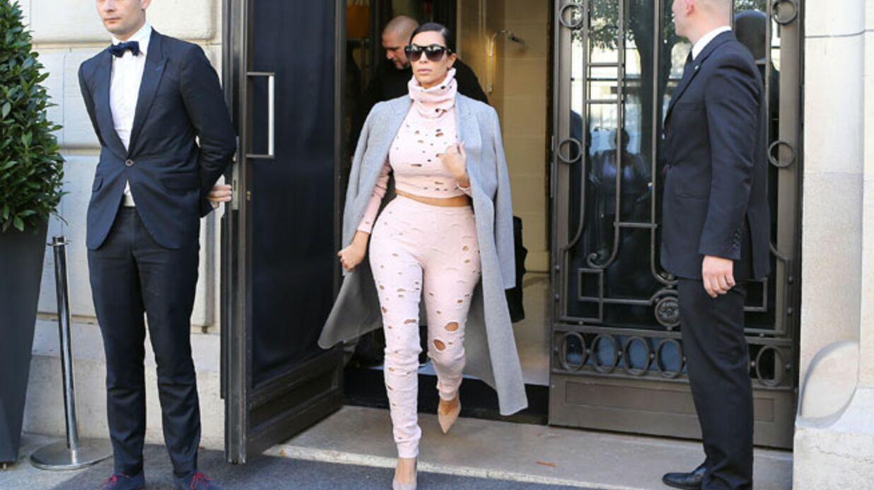 VIDEO Kim Kardashian aurait-elle oublié sa fille à l'hôtel?