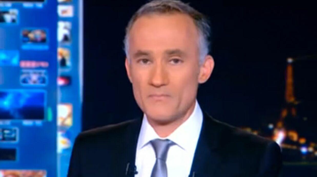 VIDEO Gilles Bouleau ému aux larmes durant le 20h