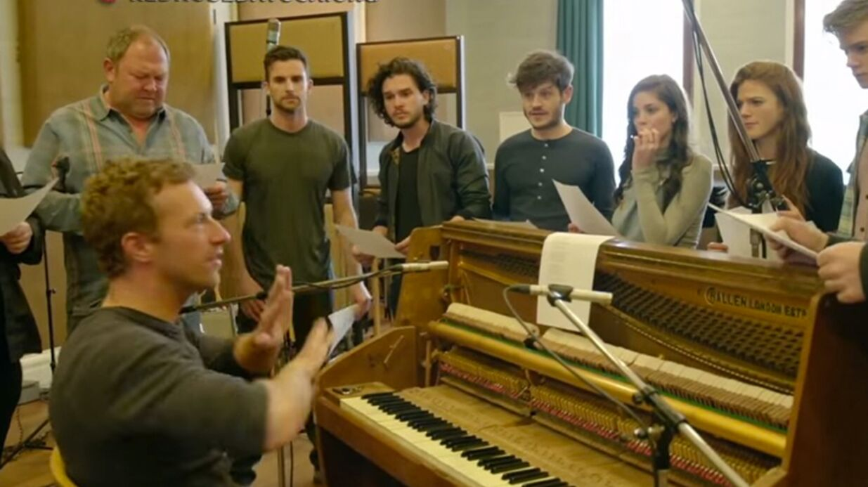 VIDEO Le casting de Game of Thrones chante pour la bonne cause