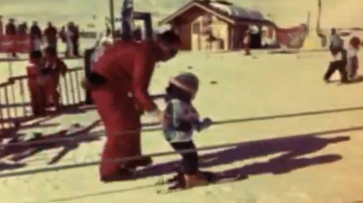 VIDEO Jamel Debbouze emmène son fils skier pour la première fois